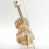 Violino di Paganini in Filigrana Bicolore