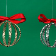 Media Pallina di Natale in Filigrana